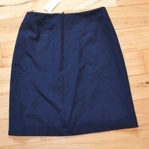 Brooks brothers blue tollegno 1900 Skirt  sz 6 new
